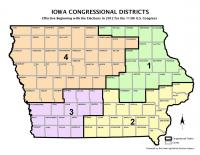 Iowa Congressional District Map